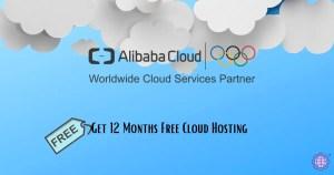 Get 12 Months Free Cloud Hosting