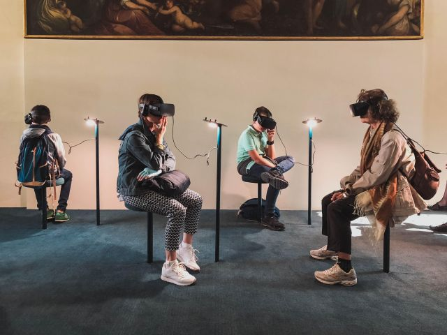 We're all on the holodeck now, VR headset or not