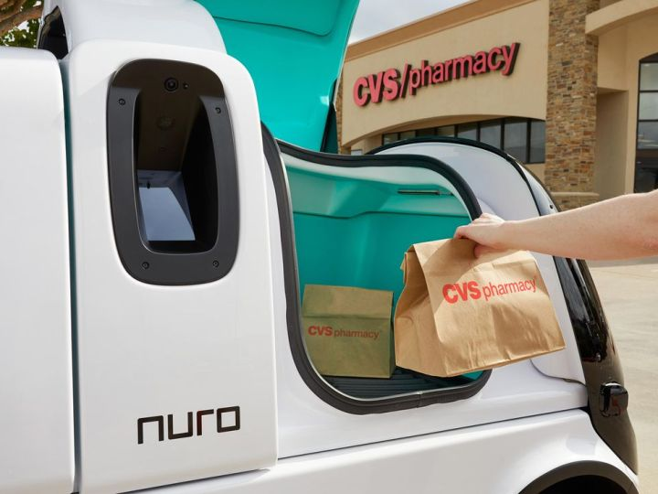CVS Pharmacy prescriptions go high-tech with self-driving delivery