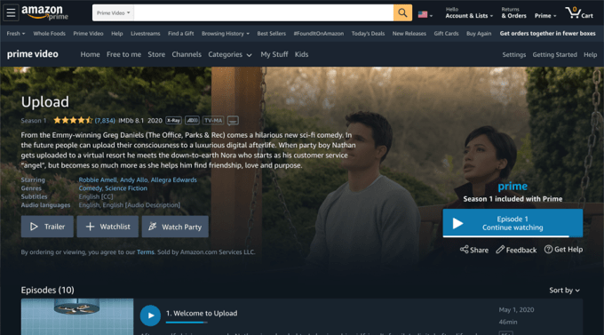 Amazon Prime Video introduces 'Watch Party,' a social coviewing experience included with Prime – ProWellTech