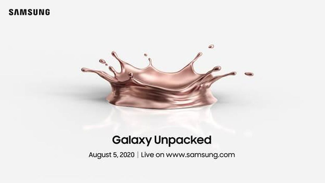 Samsung Unpacked: How to watch the Galaxy Z Fold 2, Note 20 announcement Aug. 5