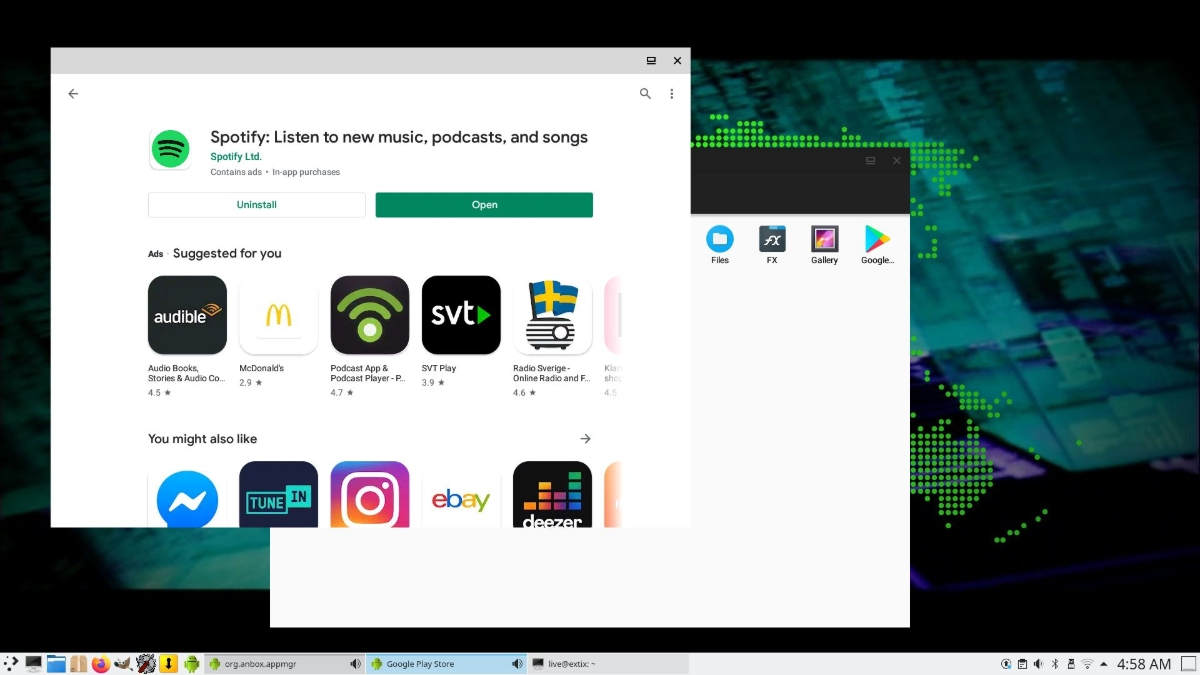 """ExTiX 20.09 """"The Ultimate Linux System"""" Released With Android Apps Support"""