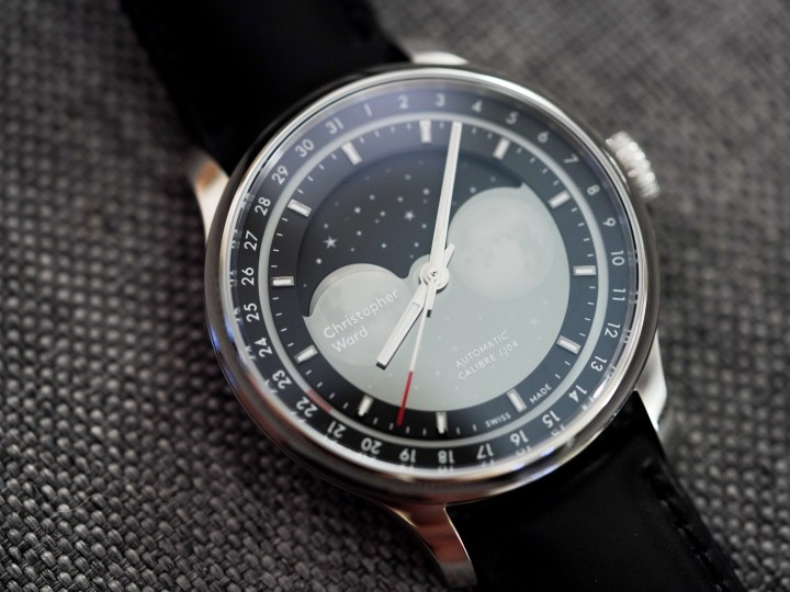Christopher Ward's C1 Moonglow moonphase automatic watch is perfect for space lovers – TechCrunch