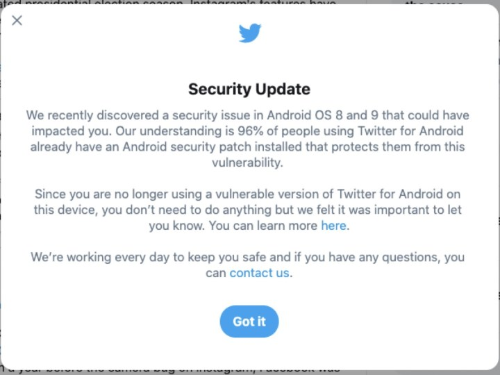 Twitter says Android security bug gave access to direct messages – ProWellTech