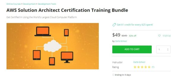 AWS Solution Architect Certification Training Package