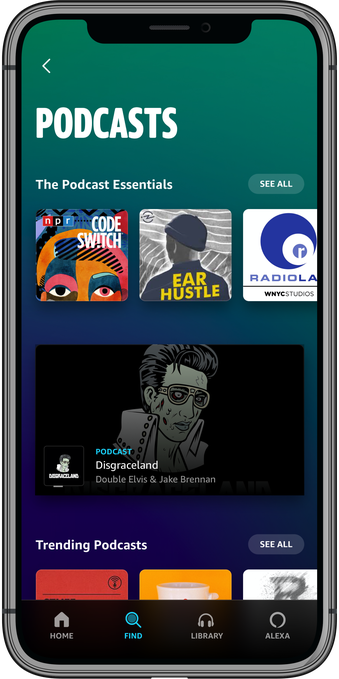 Amazon Music adds podcasts, including its own original shows – ProWellTech