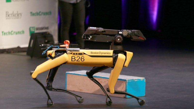 Boston Robotics delivers plan for logistics robots as early as next year – TechCrunch