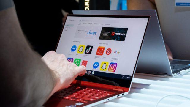 Samsung Galaxy Chromebook is entered
