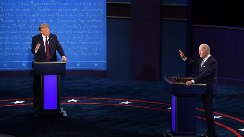 Trump, Biden spar over COVID, climate change in messy first debate
