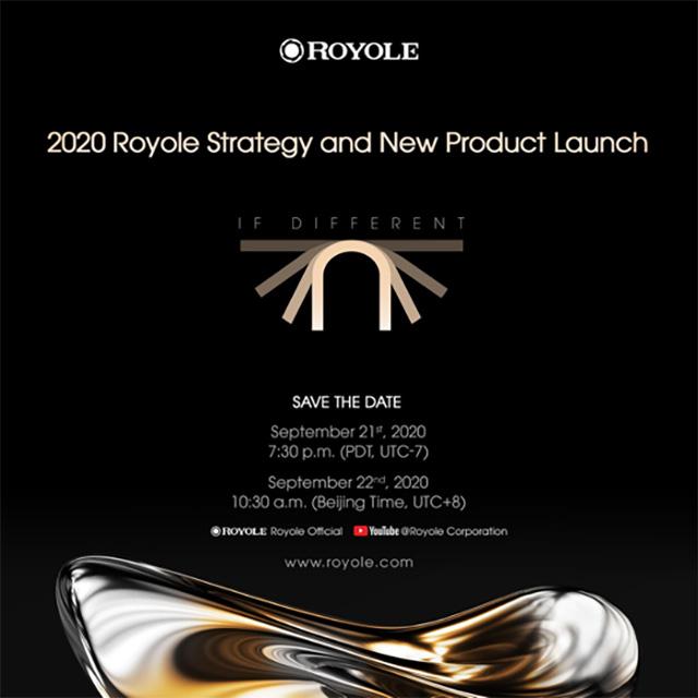 Royole Flexpai 2 Foldable Phone Event Invitation