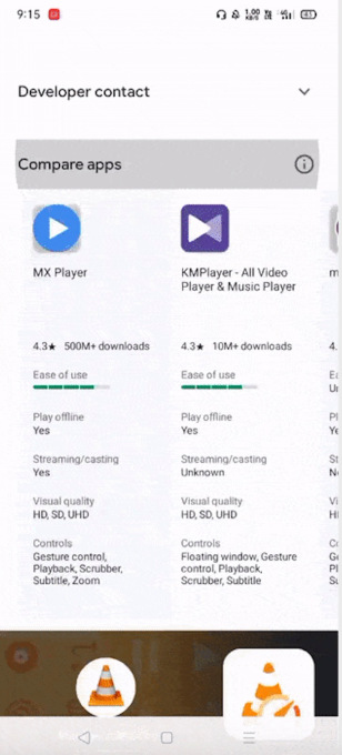 Google tests a helpful app comparison feature on Google Play – ProWellTech