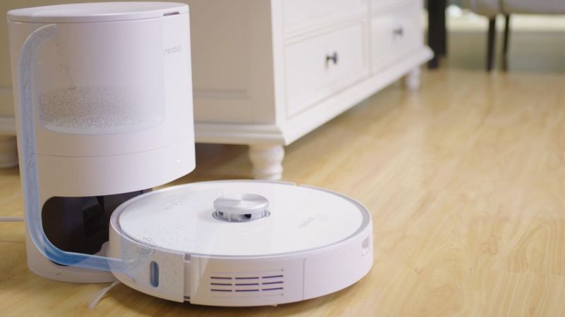 Hands-free vacuuming: Get this self-emptying robot vacuum for $424