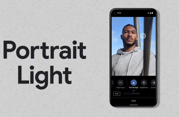 Pixel 5 Portrait Light feature rolling out to other Pixels
