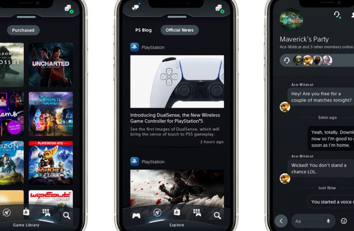 PlayStation App for mobile gets a big update for PS5
