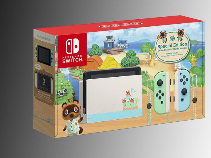 The Nintendo Switch is actually in stock, including the Animal Crossing special edition
