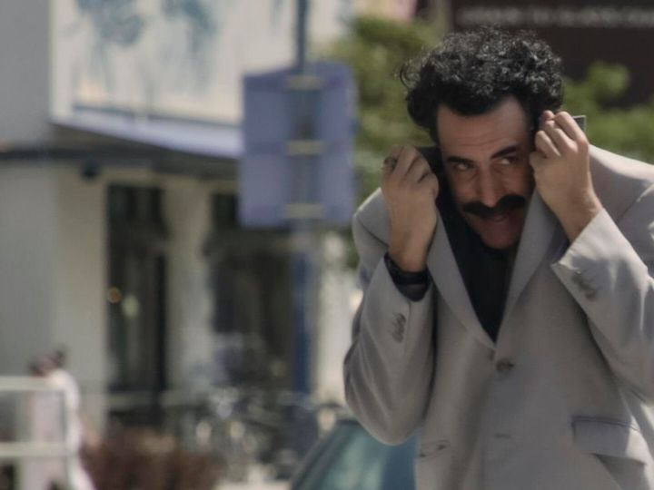 There is no escape from Borat