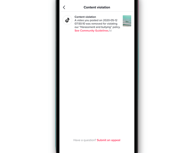 TikTok rolls out a new notification system for content removals – ProWellTech