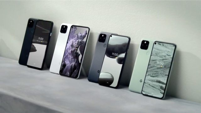 Release date of the Google Pixel 5 Pixel 4a 5g event