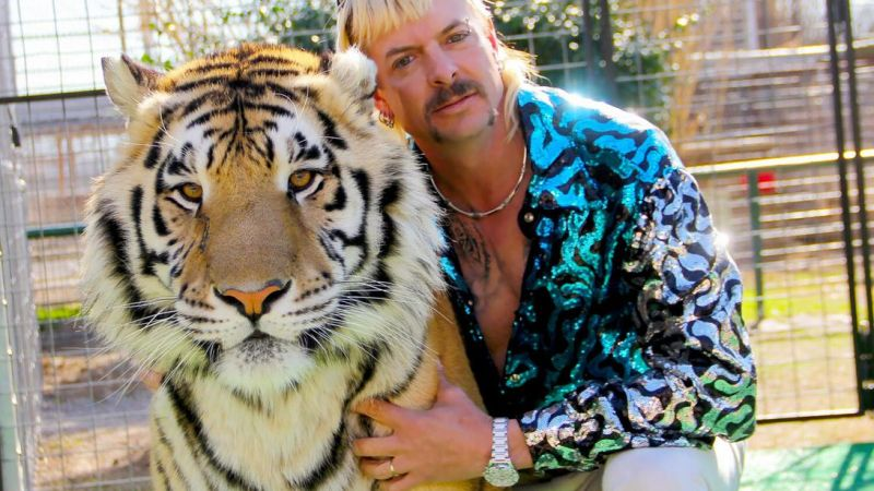 President Trump may pounce on a pardon for Joe Exotic, the Tiger King