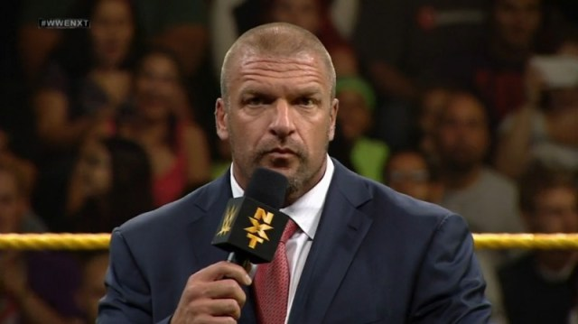 Triple H NXT Takeover