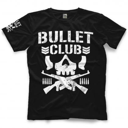 New Japan Pro Wrestling Bullet Club Bone Soldier T Shirt