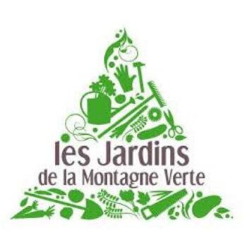 logo de jardin de la Montagne verte