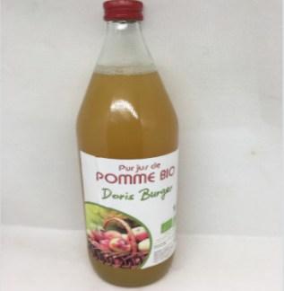 Jus de pomme Bio D'Alsace Buger non filtrer