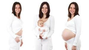 Raskaus muuttaa naisen kehoa sen aikana ja elämä pienokaisen kanssa tuo uusia haasteita arkeen.