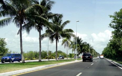 Viajando pelo México de carro