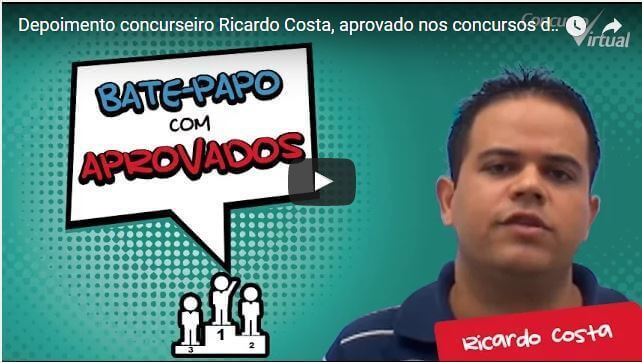 aprovado no concurso virtual ricardo costa