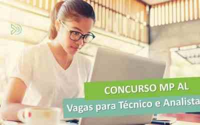 Concurso MP AL – Vagas para Analista e Técnico do Ministério Público [Manual do concurso]