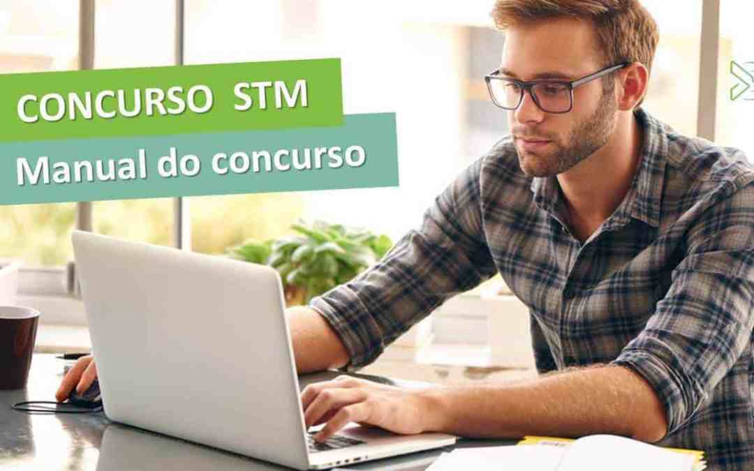 Concurso STM 2017 – descubra como passar mais rápido [manual do concurso]