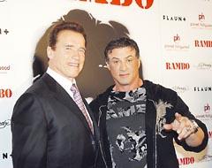 Arnold y Sylvester