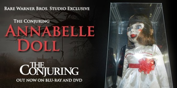 The Conjuring Annabelle Doll Giveaway