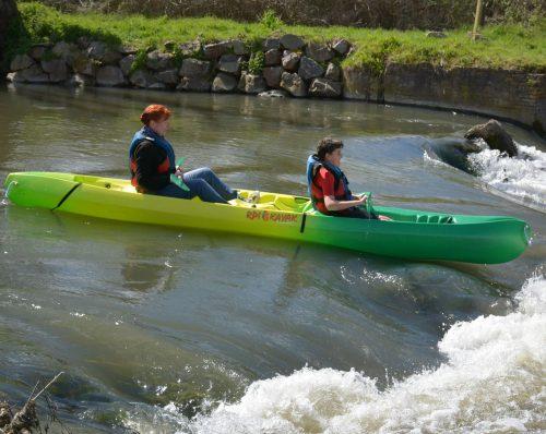 descente kayak canoe risle normandie