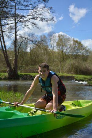 canoe descente risle normandie