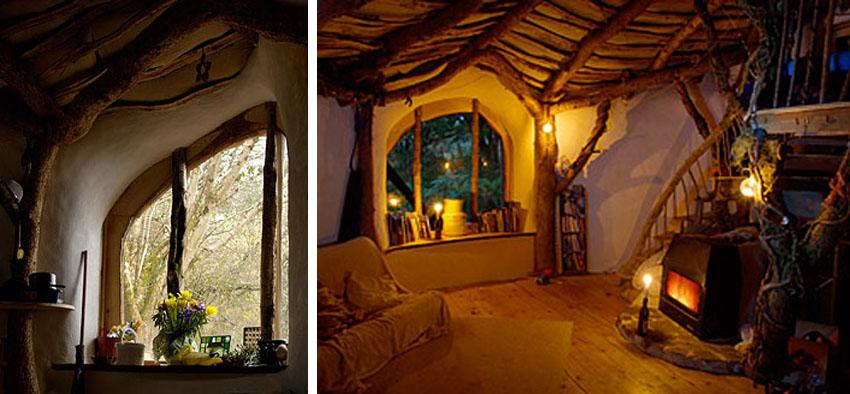 ejemplos de bioconstrucción: casa hobbit
