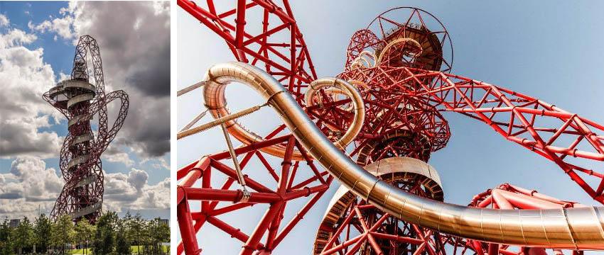 iconos del skyline de Londres: Arcelormittal Orbit