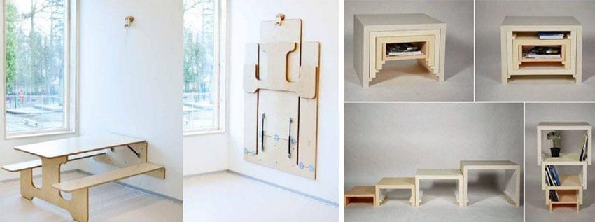 ideas para diseñar espacios pequeños y aprovechar el espacio de tu casa al máximo