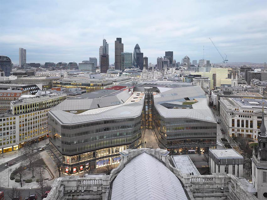 edificios con las mejores vistas de Londres-vistas de la city desde st.paul