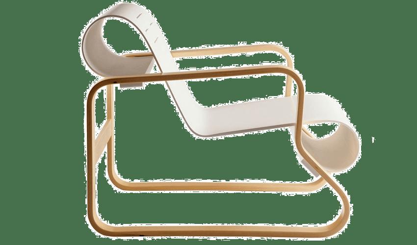 mobiliario diseñado por arquitectos: Silla Paimio de Alvar Aalto