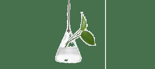 Este jarrón minimalista es un gran regalo para arquitectos
