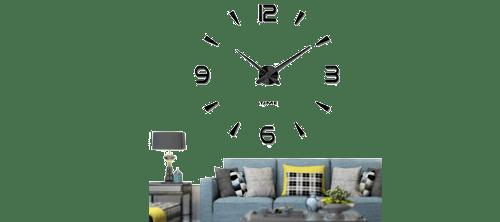 Un reloj de pared sin marco para regalar a un arquitecto que valora su tiempo