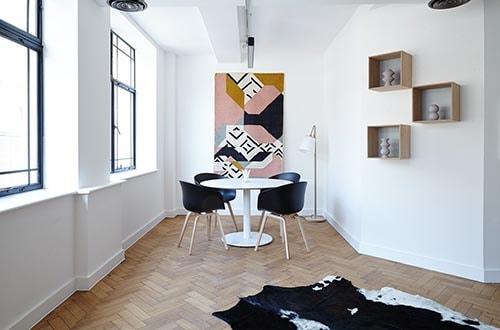 Usa el color para aumentar la iluminación de las estancias