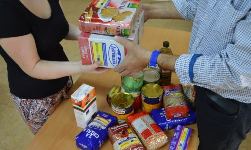 proyecto abraham - banco de alimentos entrega