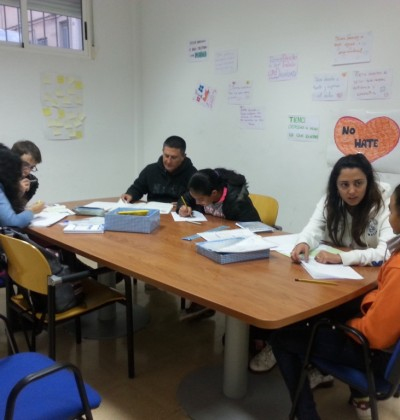 proyecto abraham - voluntariado - educación