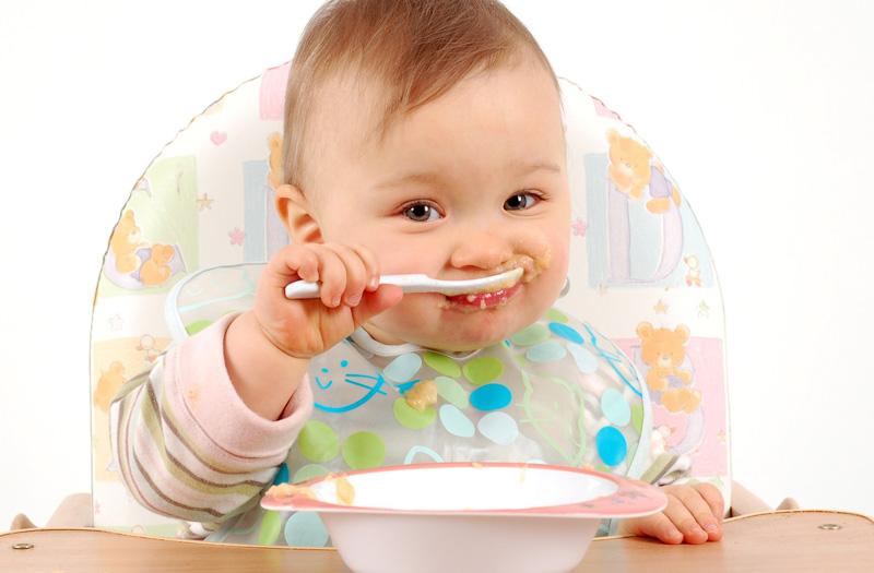 alimentación complementaria en tu bebé