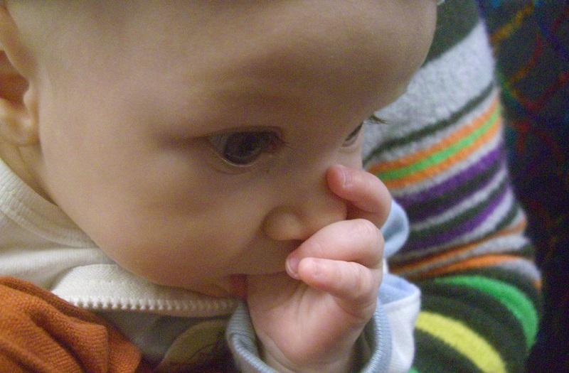 ampollas de agua en la piel del bebe