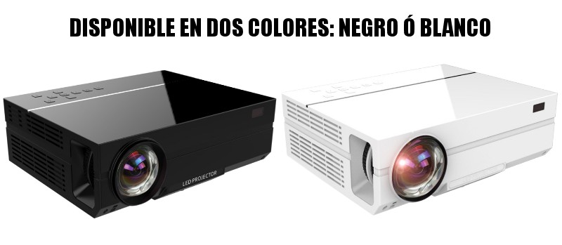 Disponible en dos colores: negro y blanco