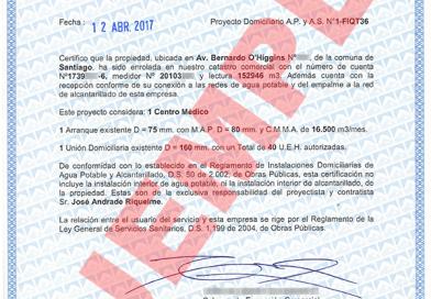 certificado de dotacion